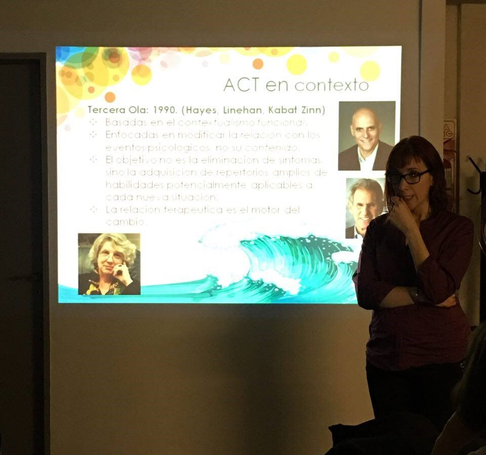 Workshop Intensivo de Terapia de Aceptación y Compromiso (ACT)